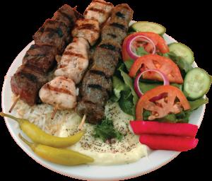 Assiette du Beyrouth